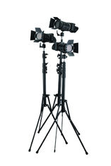 Cina Focusable dimmable Spot Lights Studio LED Lighting Kit J-500K-3 pemasok